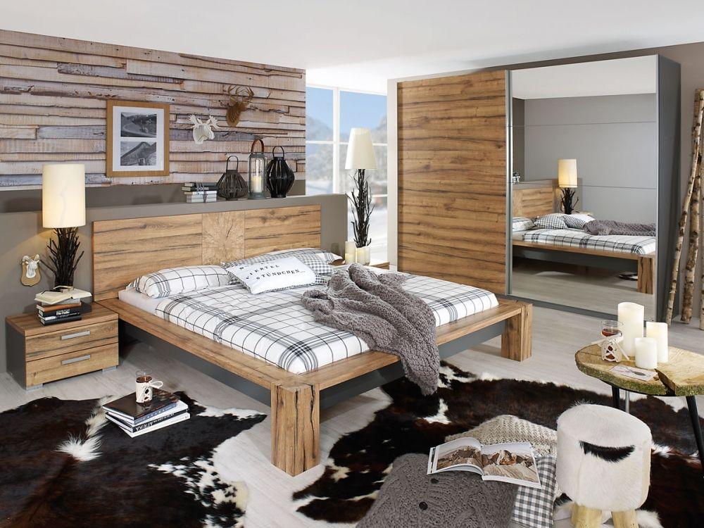 DAYTONA Komplett Schlafzimmer I 4teilig 140 x 200 cm