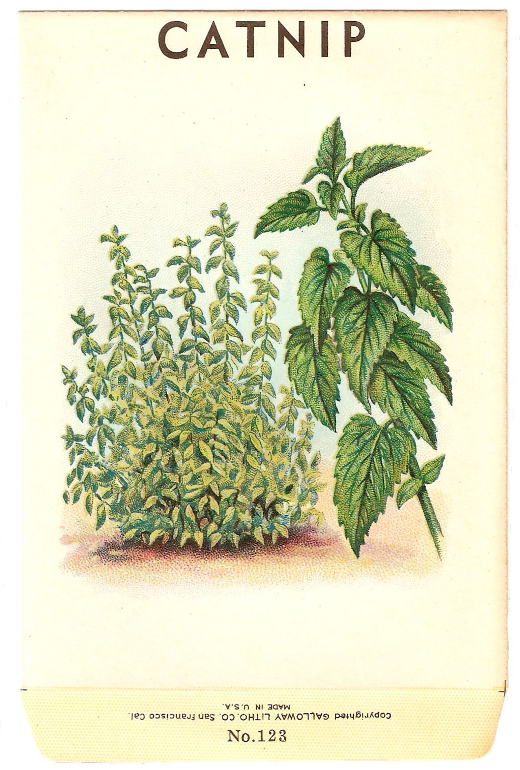 Thursday is Request Day – Airship, Fox, Chickens,Butterfly, Rosary, Herb,  Dragonfly | Catnip plant, Vintage seed packets, Herbs