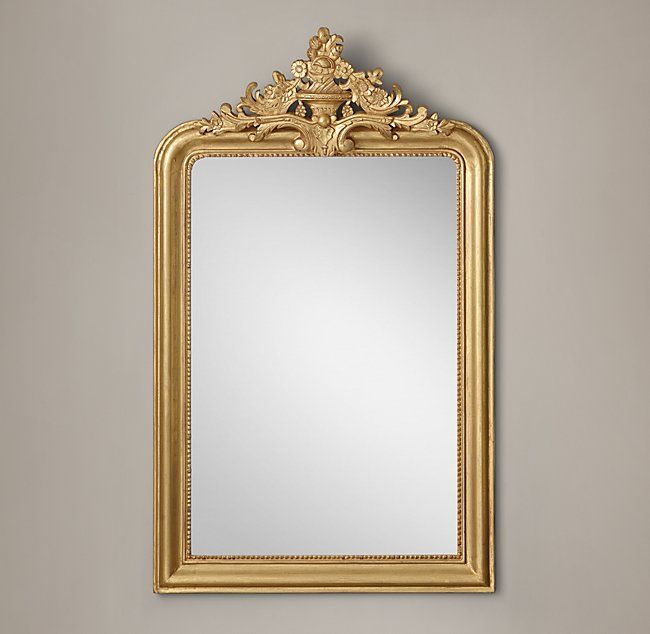 Louis Philippe Gilt Mirror Modern DecorRestoration HardwareArt