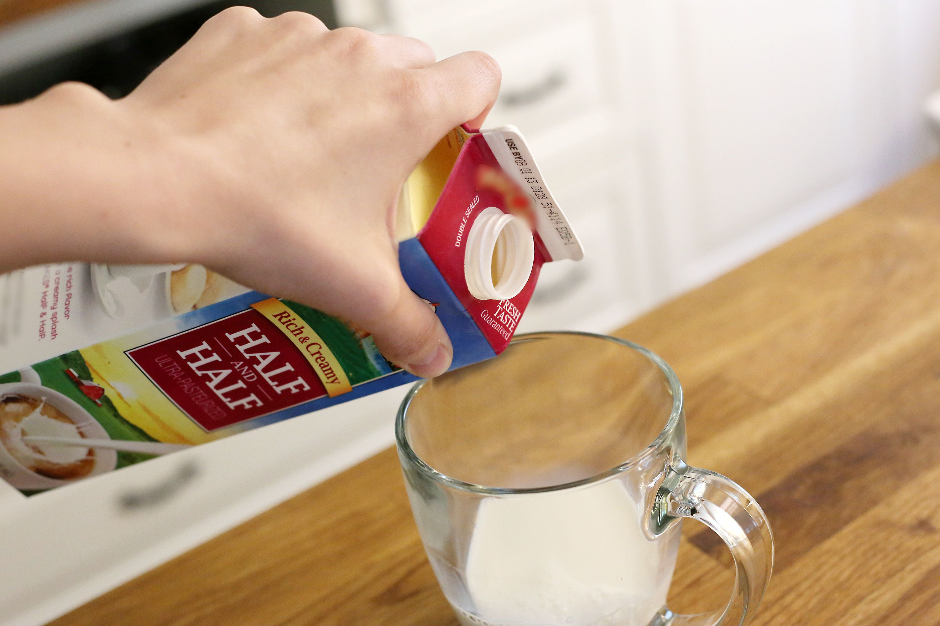 How to Substitute HalfandHalf for Whipping Cream