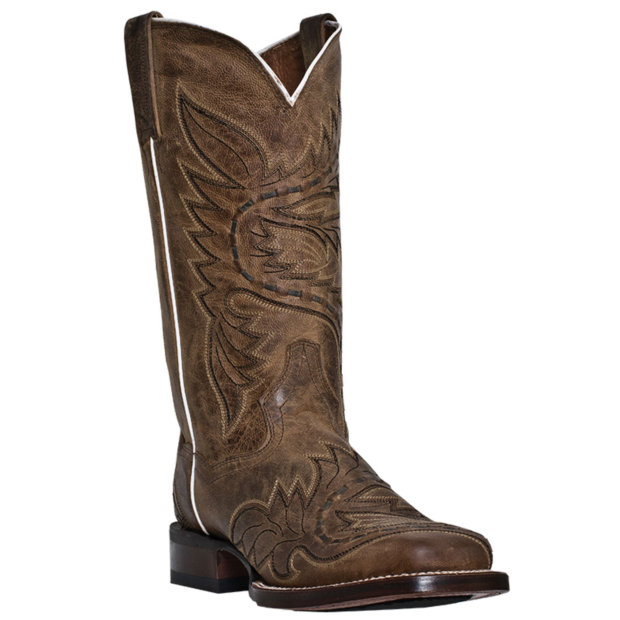 Dan Post Womens Tan Boots Sidecar