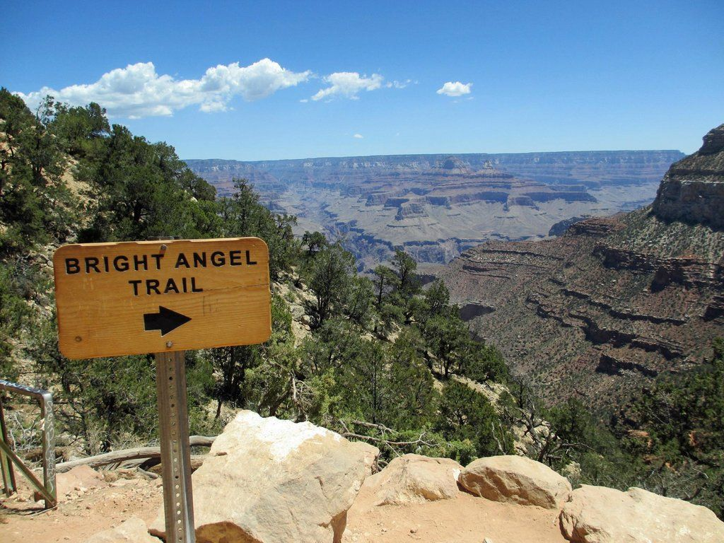 Bright Angel Trail Bright Angel Trail Grand Canyon Grand