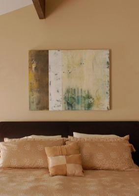"""Simpatico II, 36""""x48"""", installation in private residence, Malibu, Ca."""