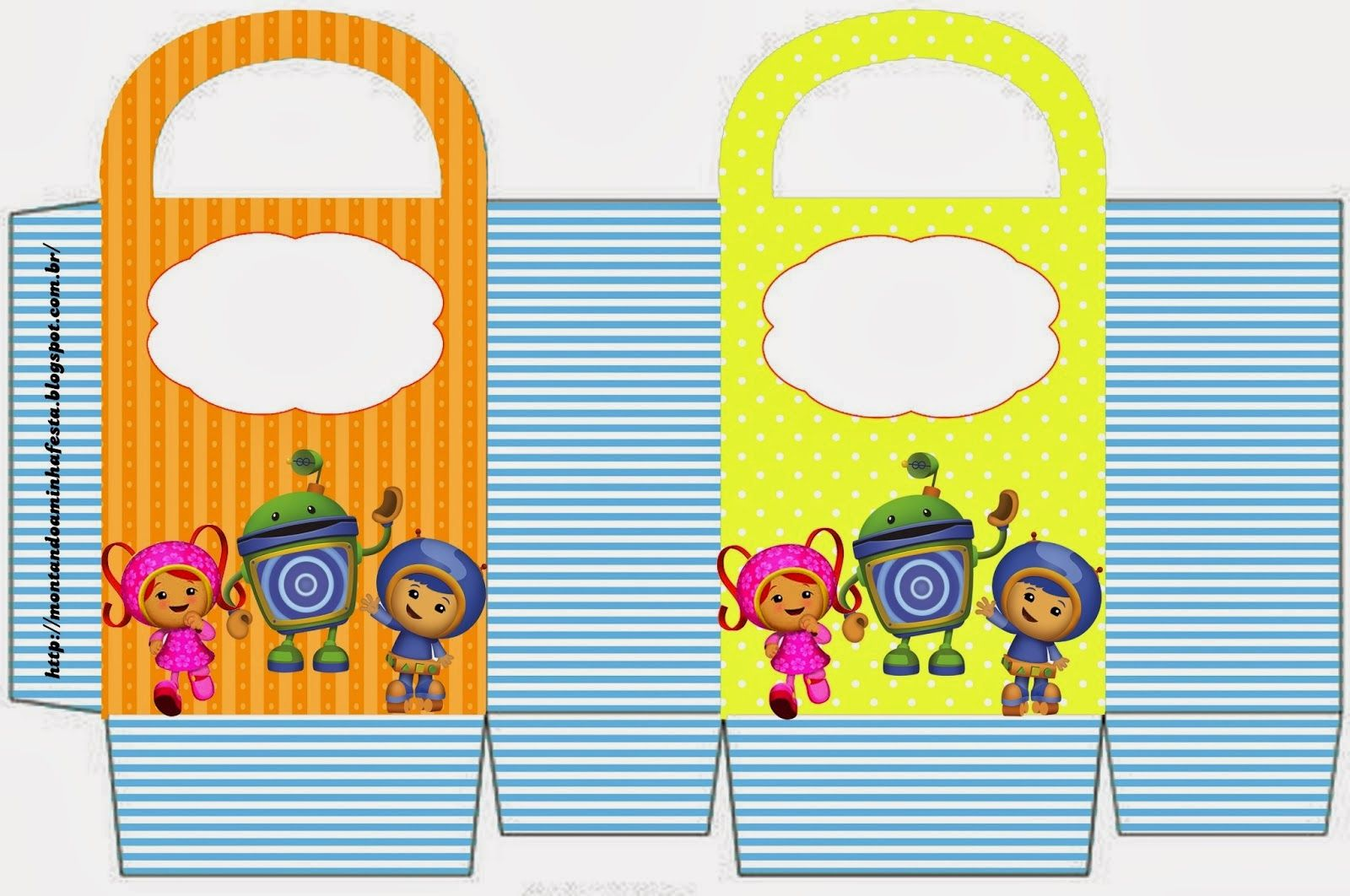 Cajas para Fiestas de Umizoomi para Imprimir Gratis.   umizoomi team ...