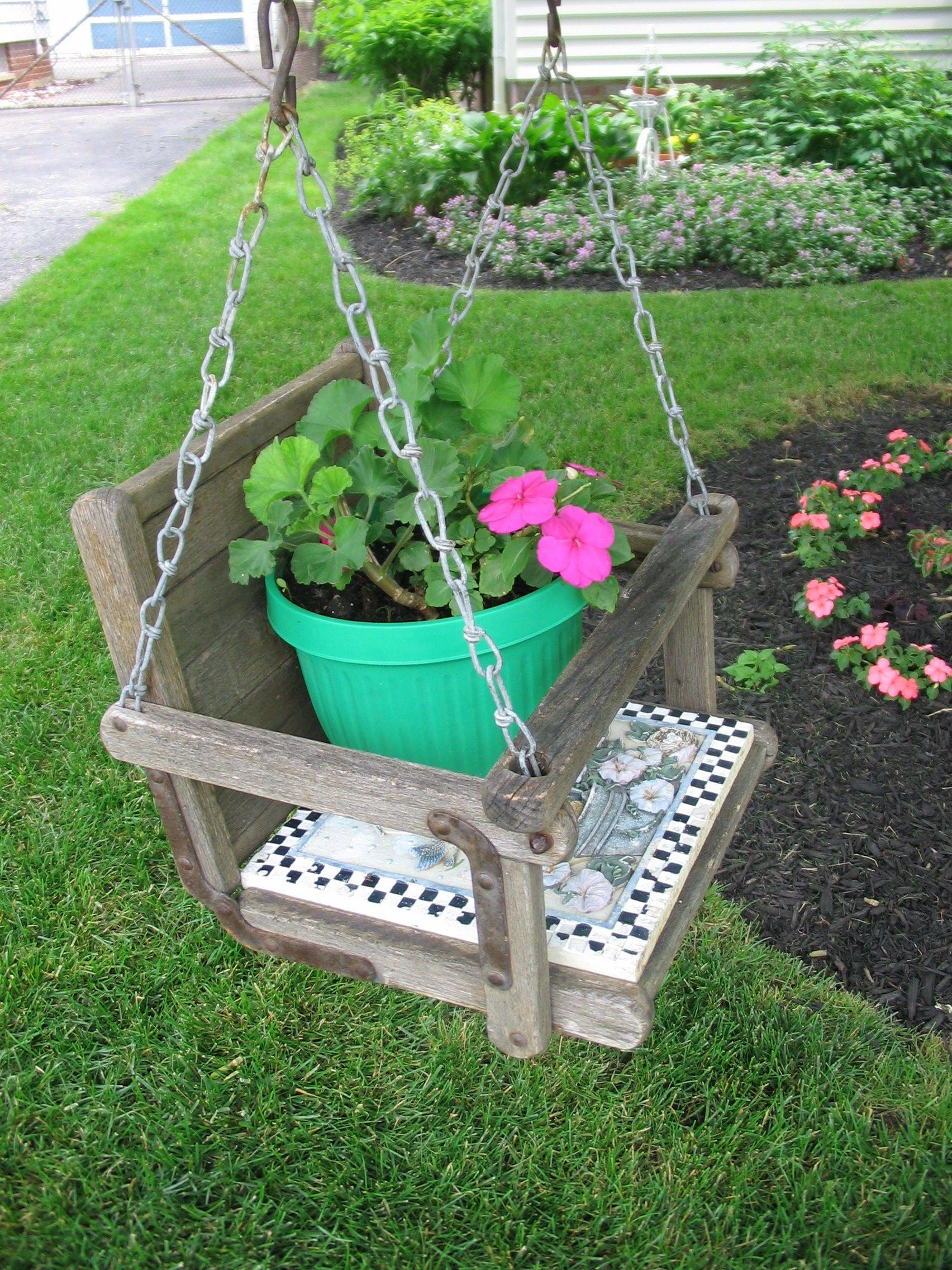 Old baby swing garden pinterest baby swings garden ideas