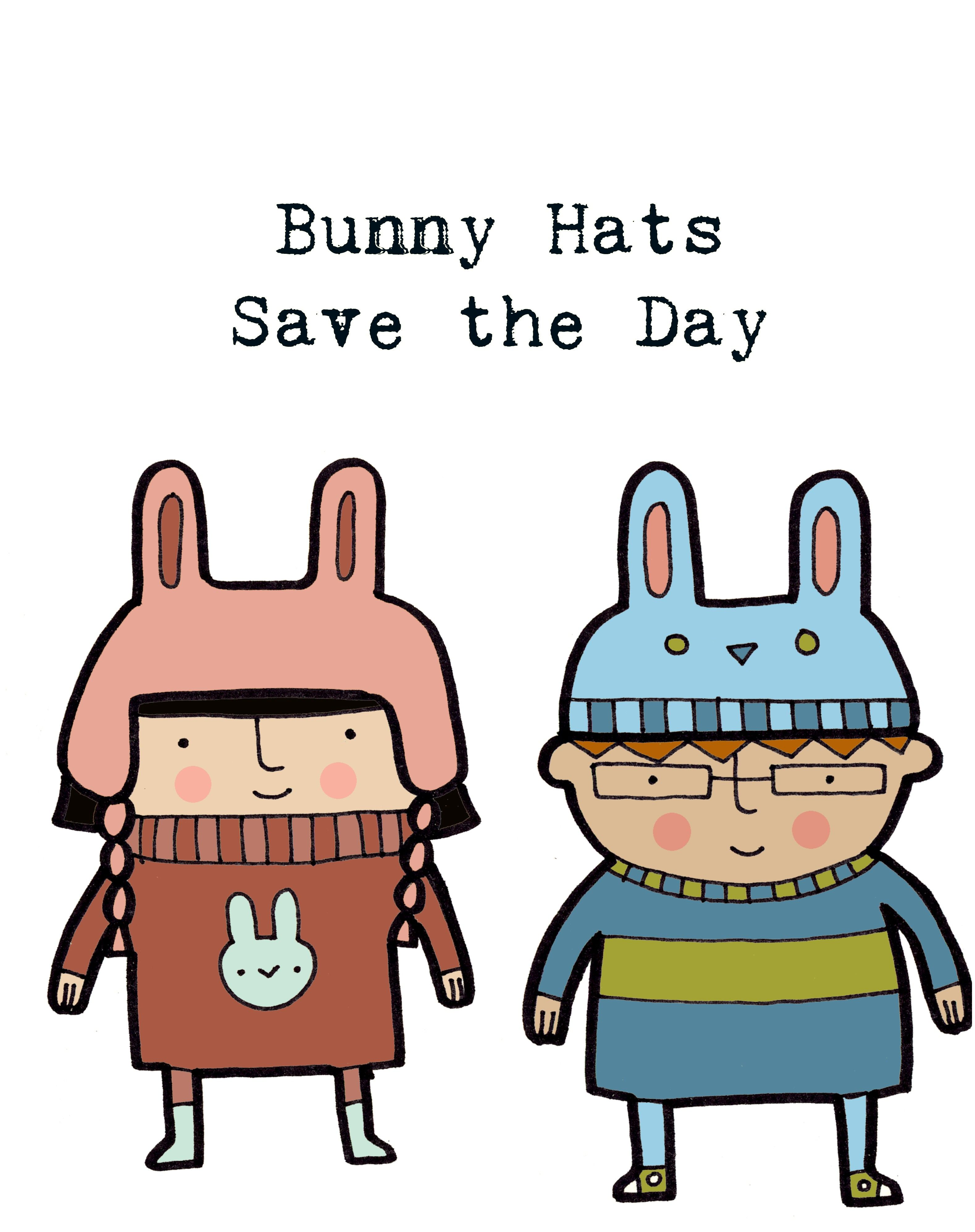 Fun Writing Prompts Bunny Hats Saved The Day