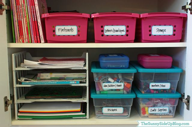 Sunny Side Up: Back to School Organization (re-run)