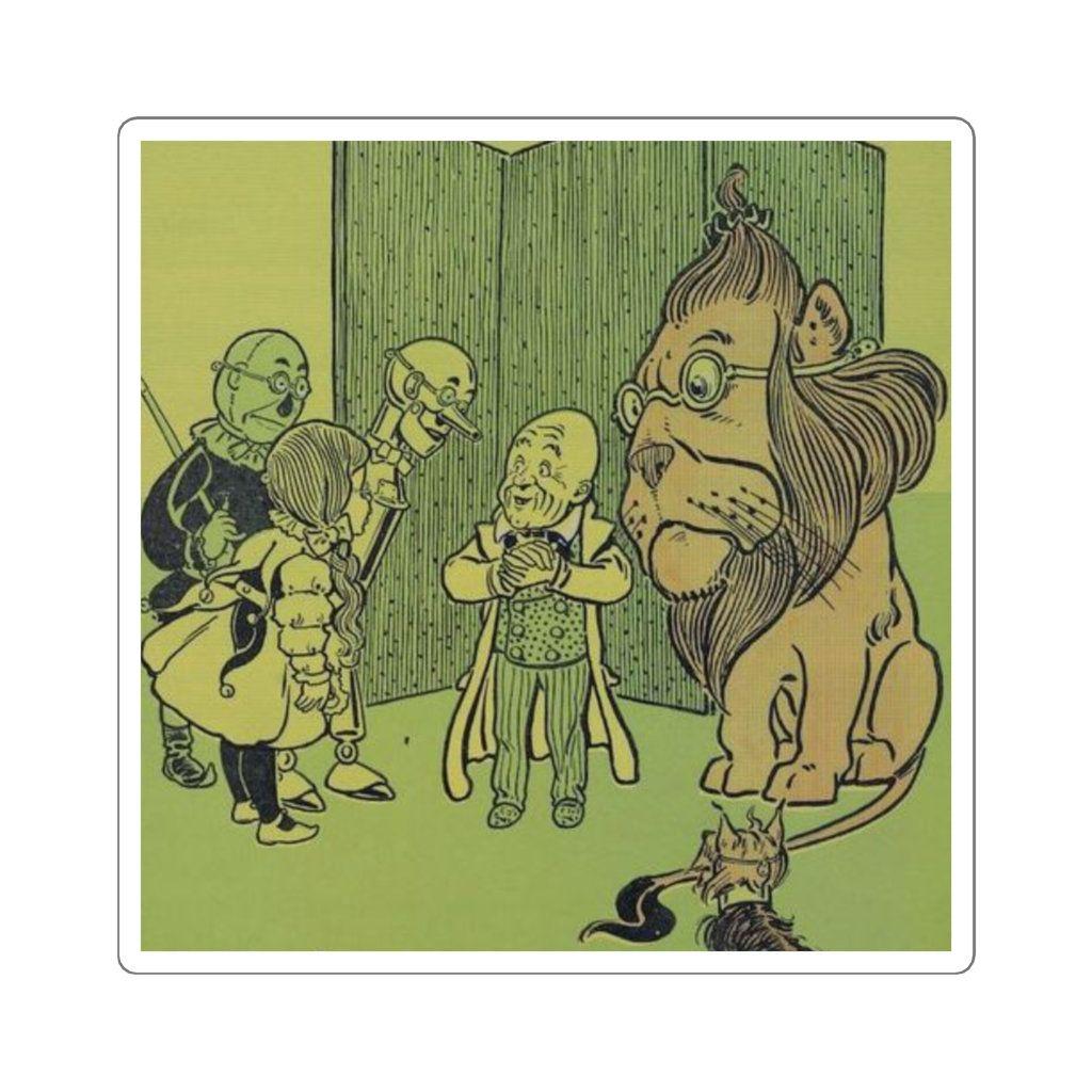 Wonderful Wizard Of Oz Sticker The Wonderful Wizard Of Oz Wizard Of Oz Wizard Of Oz Characters