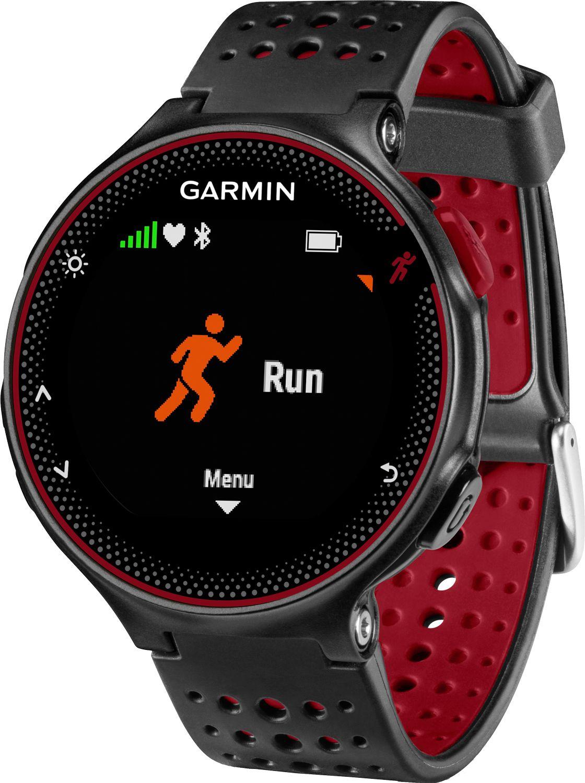 Garmin Forerunner 235 GPS & HRM Watch, Red Garmin