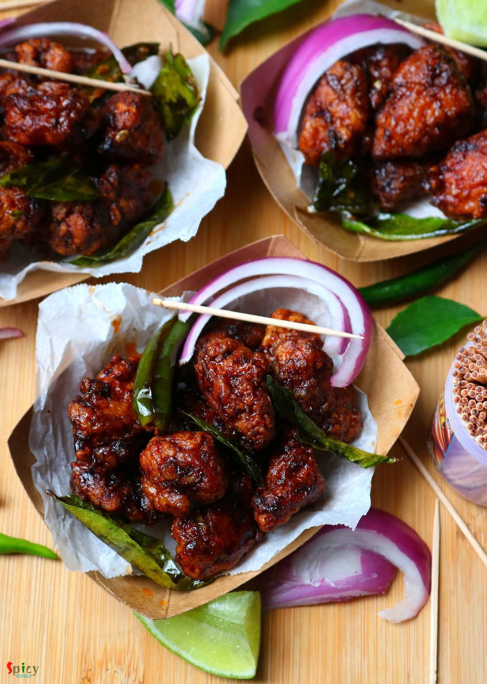 Chicken 65 | Easy meals, Indian food recipes, Recipes