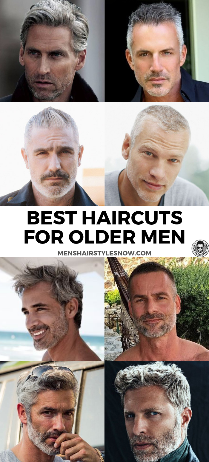 best hairstyles for older men 2019 | men's hairstyles | older men