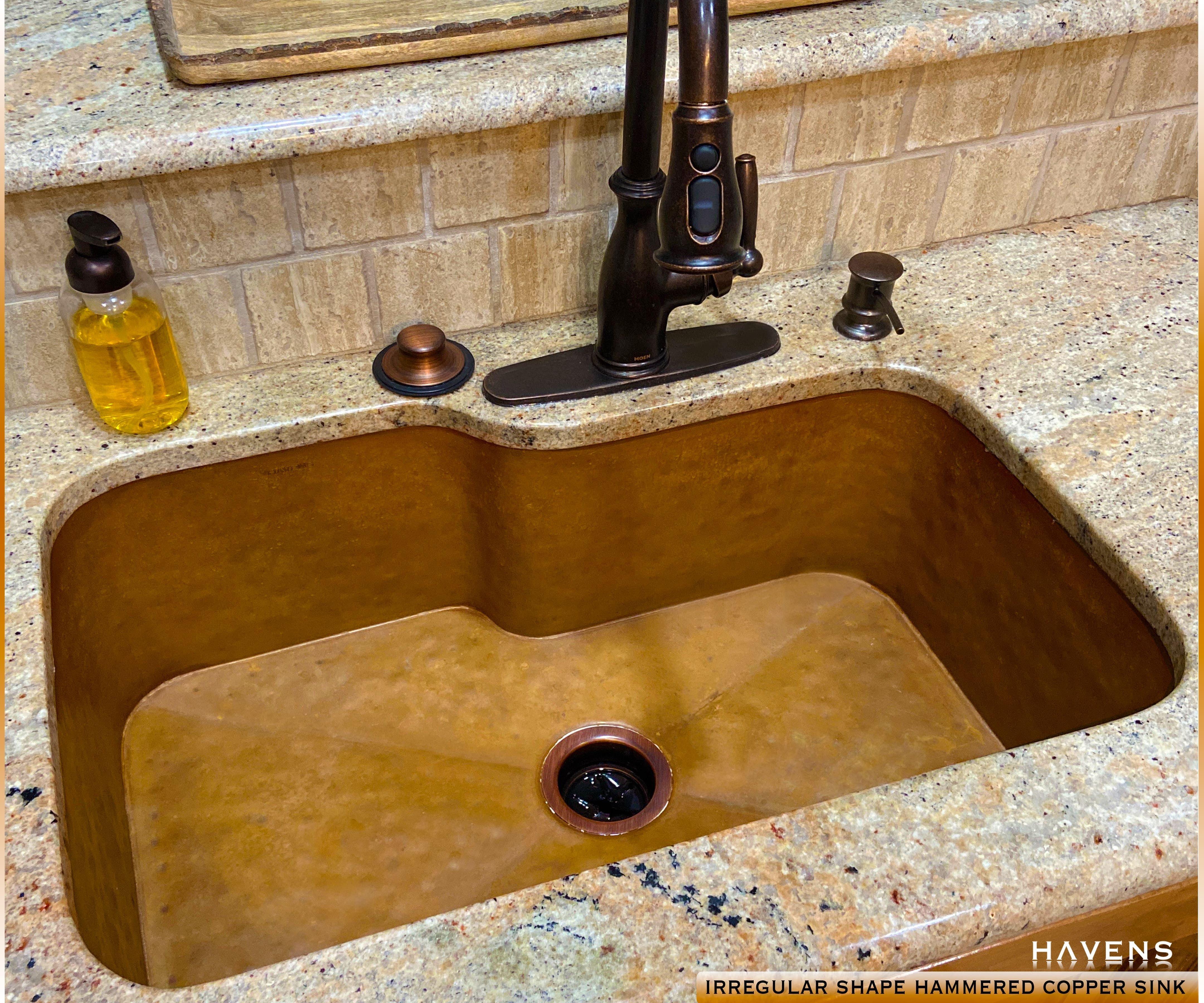 Handmade Custom Copper Kitchen Sink Copper Kitchen Sink Custom Copper Sinks Copper Sink
