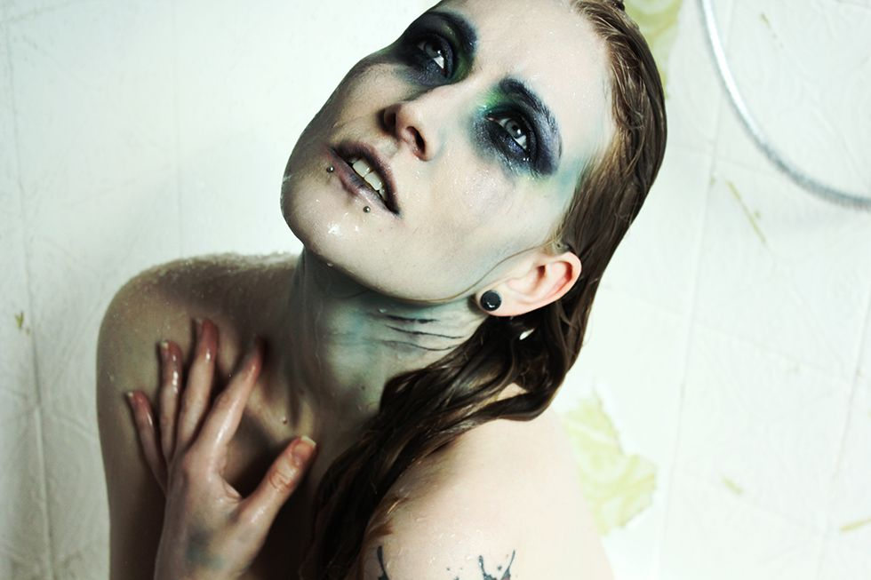Bad Mermaid Makeup.  #halloween #makeup by bambidoes.de