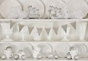 Day 12:  Silver and white Christmas #12daysofchristmas by eclaire