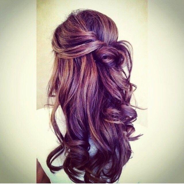 Elegant Updo Wedding Hairstyles Spring 2015: Long Hair Styles