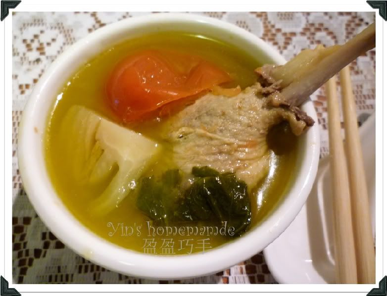 Yins homemade salted vegetables duck soup kiam chai ark food forumfinder