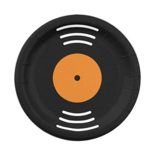 Vinyl music record novelty paper plates for party | Funny Birthday Party | Pinterest | Vinyl music  sc 1 st  Pinterest & Vinyl music record novelty paper plates for party | Funny Birthday ...