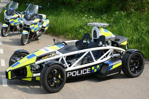 somerset police force  u2013 ariel atom formula 1 car