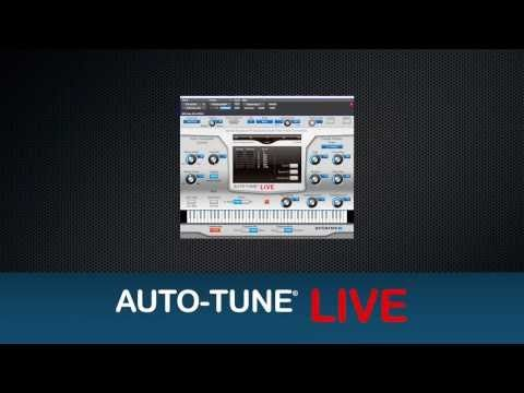 AutoTune Live Pitch Correction Software. Ultralow