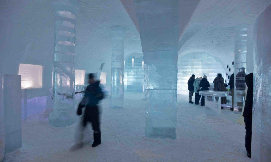 The Ice Hotel in Jukkasjärvi, Sweden. | Winter Destination | Pinterest