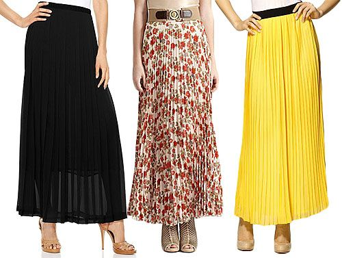 more colors maxi skirt