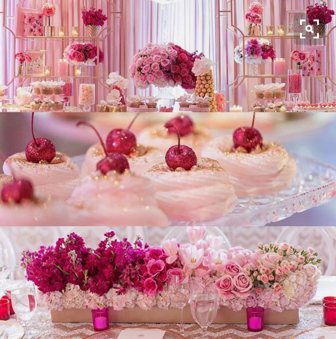 Candy bar holidays sweets ice cream party pink parties