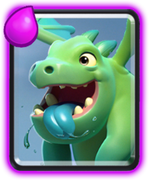 Baby Dragon Clash Royale Clash Royale Cards Baby Dragon