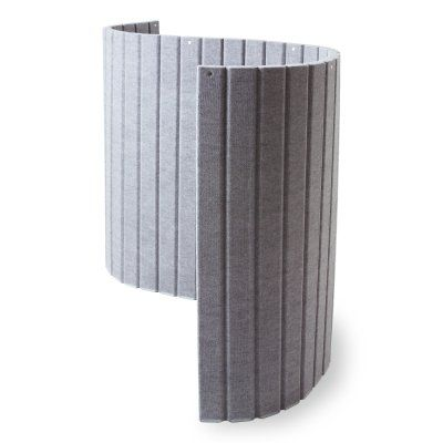 sound absorbing curved room divider Office space Pinterest