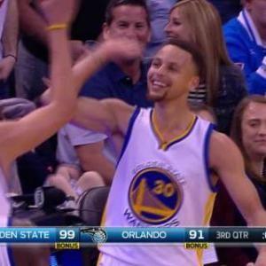 Curry's Half-Court Shot