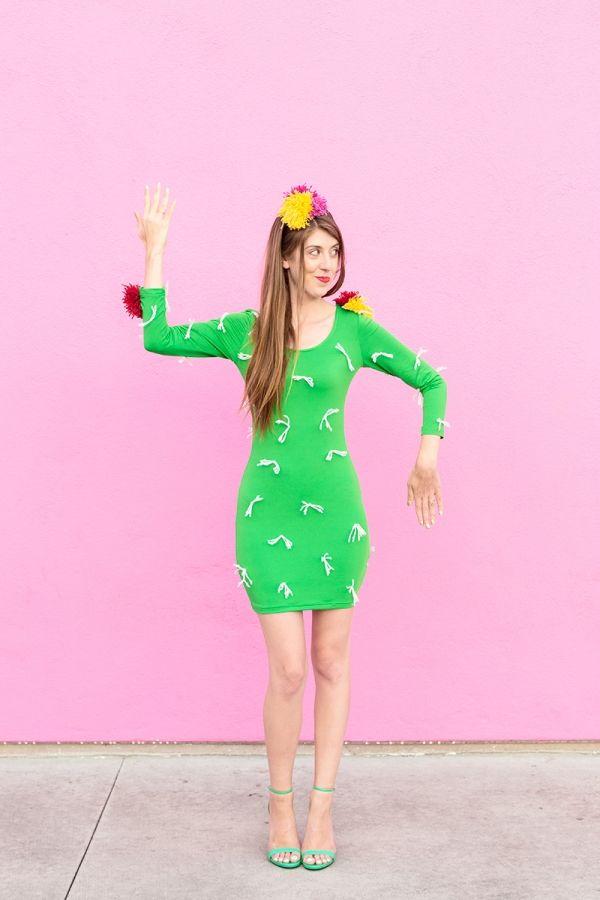 diy cactus costume costumes disfraces pinterest karnevalskost me selber machen beste. Black Bedroom Furniture Sets. Home Design Ideas