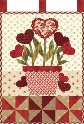 Little Blessings Wall Hanging A Month February Blooming Hearts Join Here!! 2b8bc5b7b6
