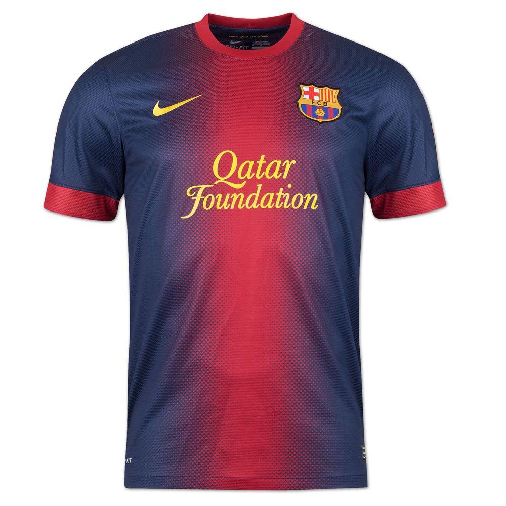 Barcelona Authentic Hjemme 12/13 Fotballdrakt / Barcelona home jersey 12/13