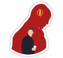The Flash - Minimalist Sticker