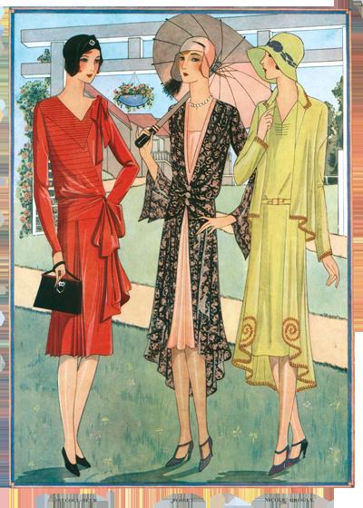 art d co des ann es 1920 mode beaut france jazz age parapluies femmes les ann es 20 et 30. Black Bedroom Furniture Sets. Home Design Ideas