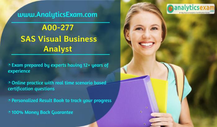 sas certification analytics