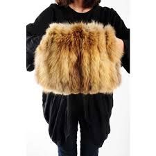 Image result for fox fur muff