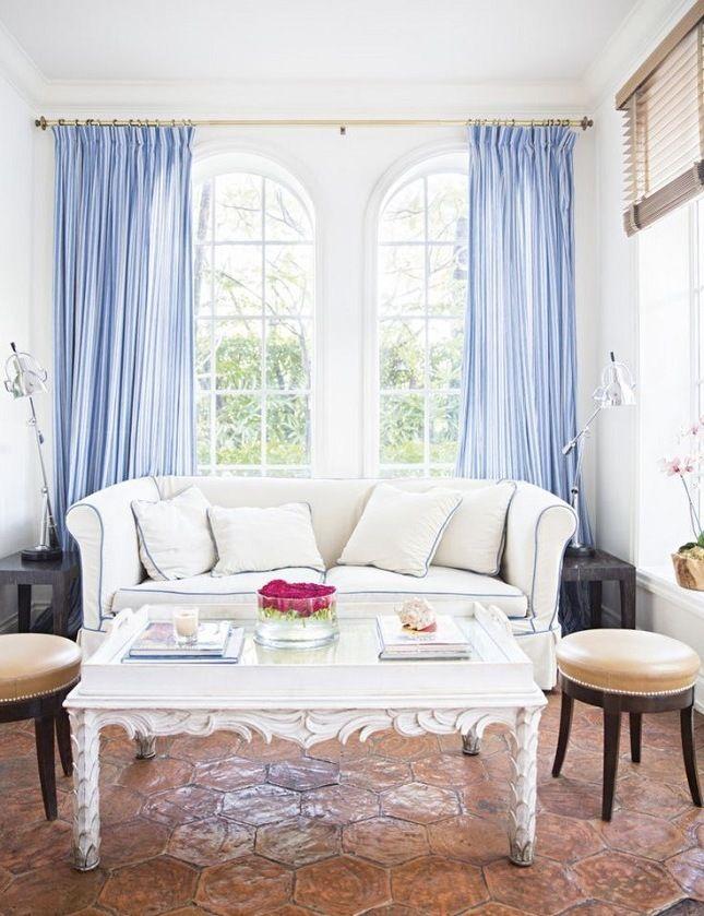 Wohnzimmer skandinavisch einrichten 22 Ideen für Hussensofa - design ideen furs wohnzimmer landhausstil