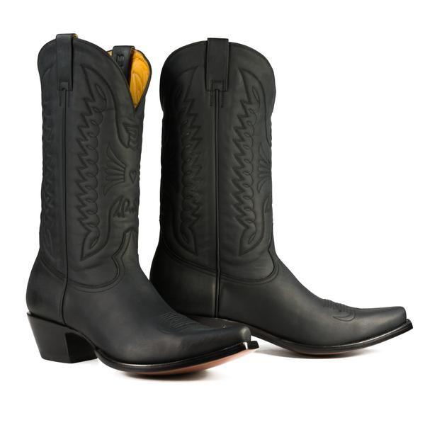 Boots men, Leather cowboy boots