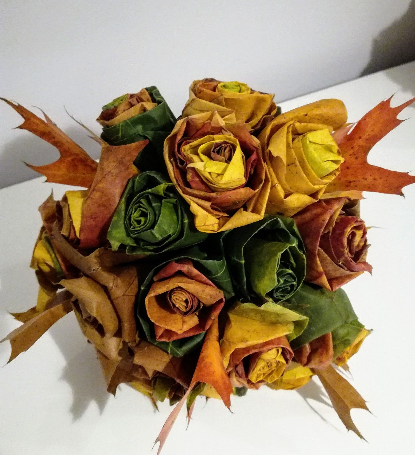 Bukiet Jesienny Z Lisci Fall Wreath Decor Fall