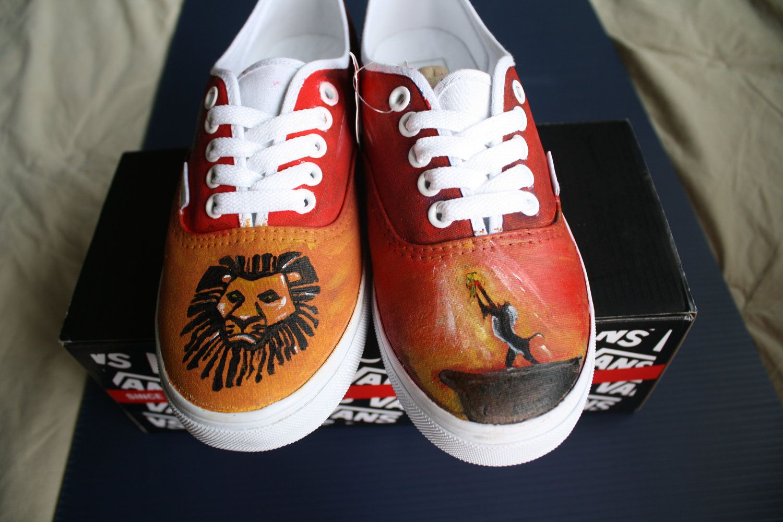 f4a86435b0 The Lion King Vans No. 2.  100.00