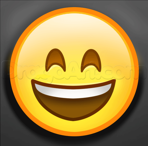 How To Draw Happy Emoji Step By Step Symbols Pop Culture Free Online Drawing Tutorial Added By Dawn June 4 2015 1 Emoji Drawings Emoji Drawing Drawings
