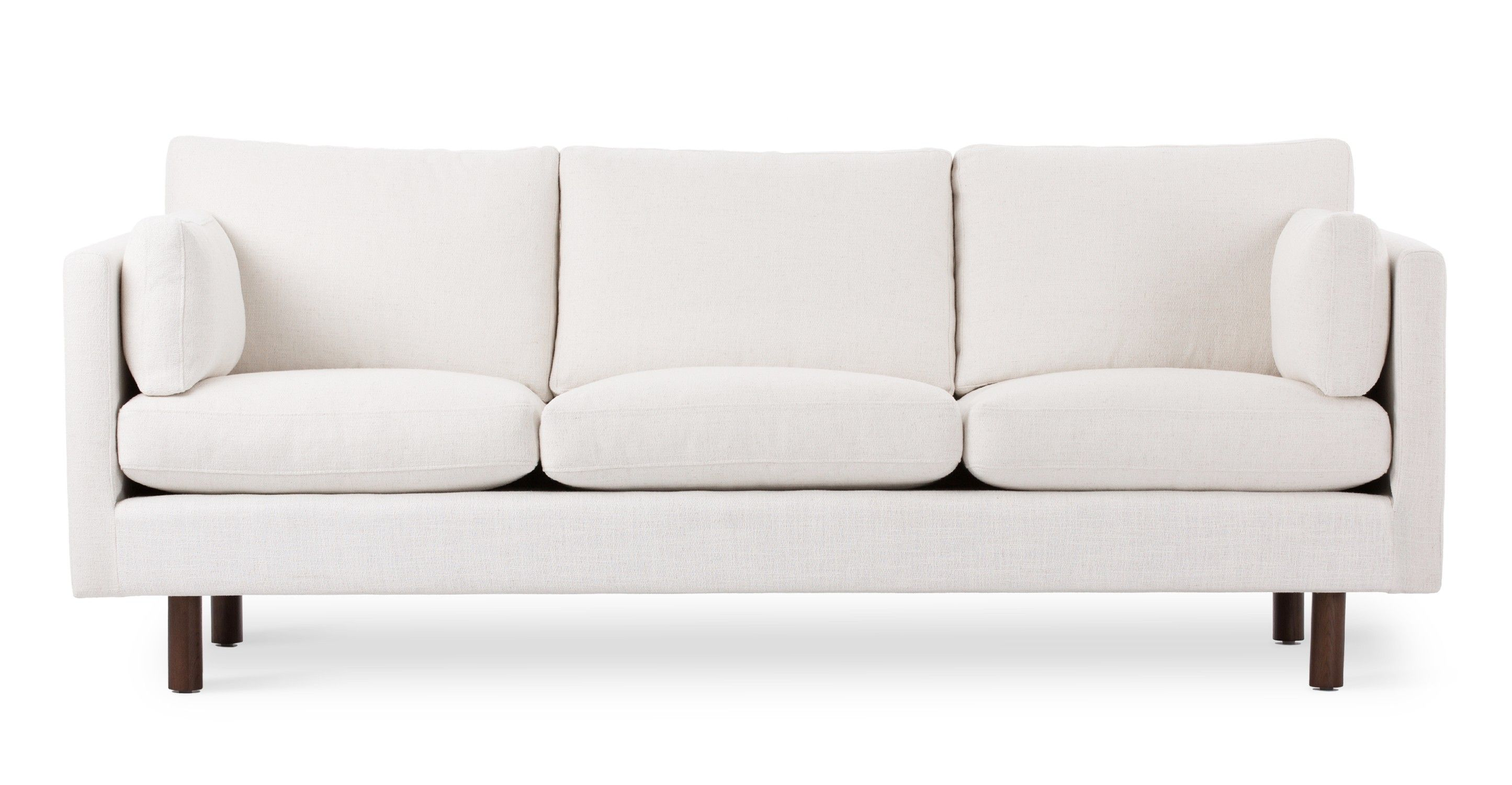 Flamboyant White Sofa For An Exquisite Living Darbylanefurniture Com In 2020 Modern White Couch Modern White Sofa White Sofas