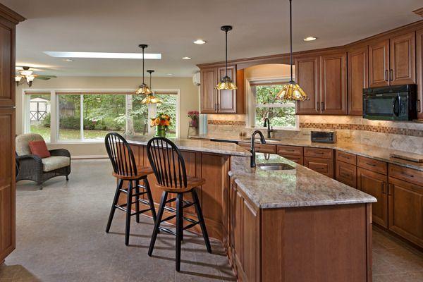Starcom DesignBuild Photo Set Sun Room And Kitchen Addition In New Kitchen Remodeling In Maryland Set