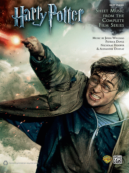 Harry Potter Sheet Music From The Complete Film Series Music Book Sheet Music Book Alfred Music