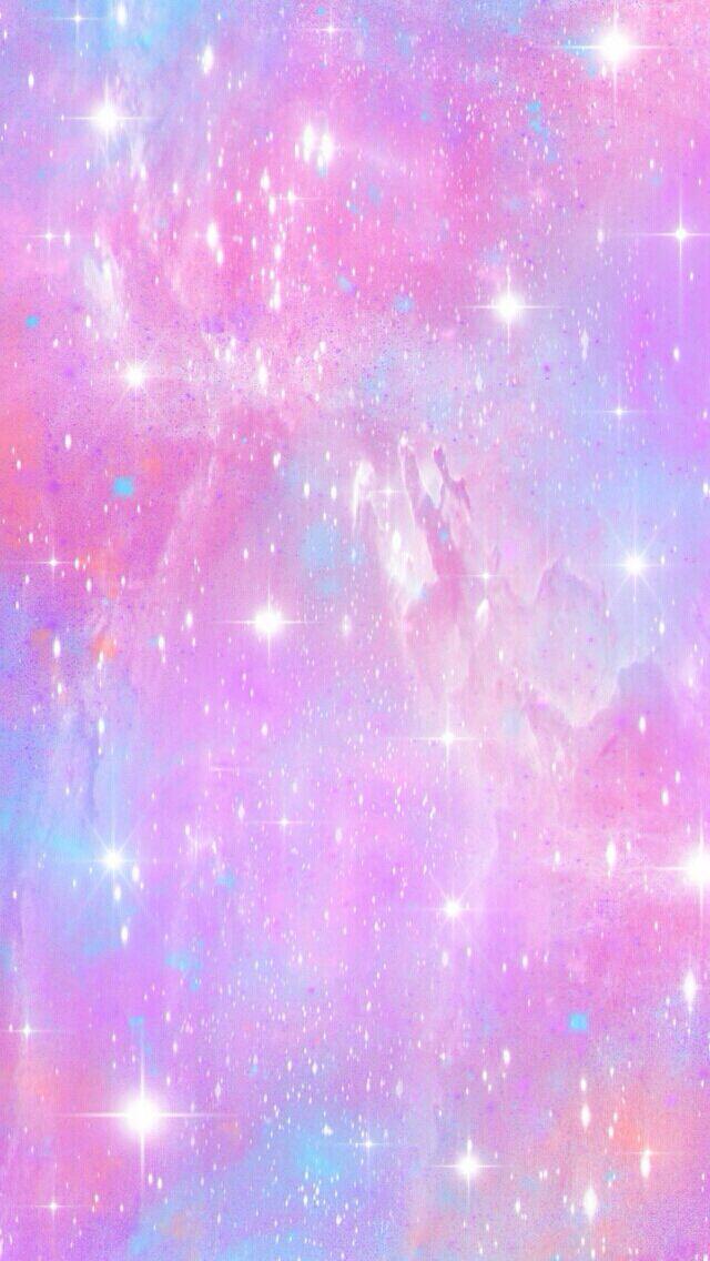 Pretty Light Colors Iphone Wallpaper Nebula Pink Wallpaper Iphone Glitter Wallpaper