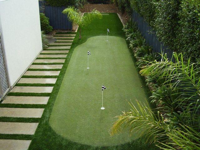 Putting Green   Putting Green Turf   Backyard Golf Ideas ...
