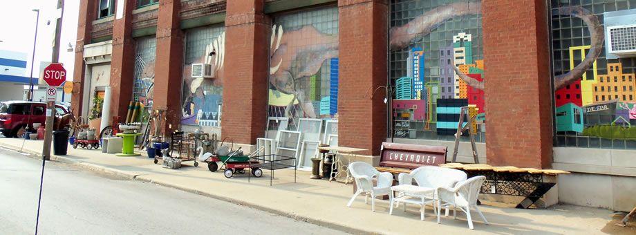 Antique S In West Bottoms Downtown Kansas City Historic District Flea Markets