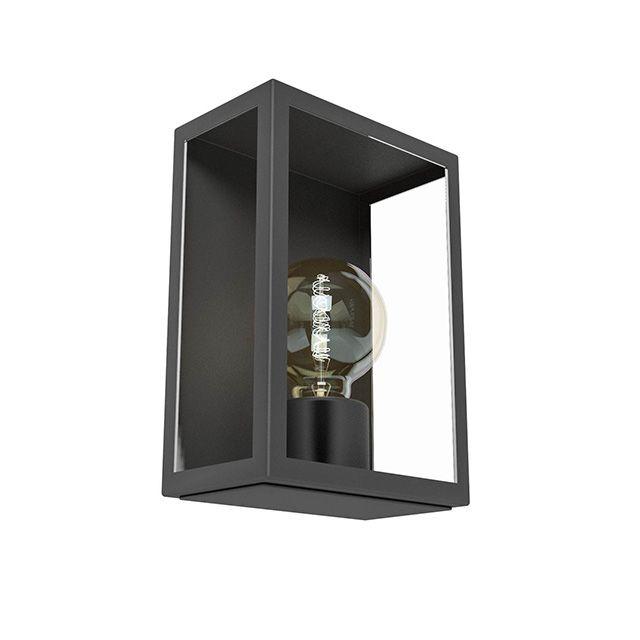Applique extérieure Nissi noire - E27 - CASTORAMA | idées déco ...