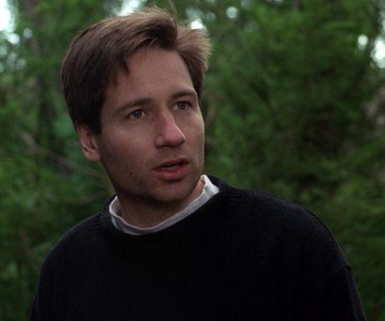 Fox Mulder's Face