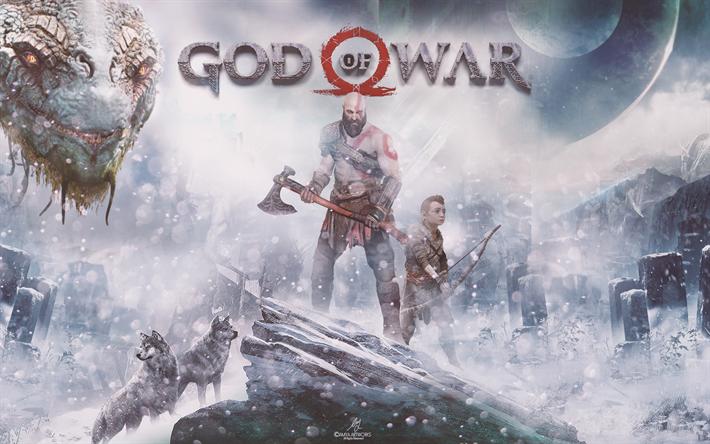 Download Wallpapers God Of War 4 4k Action Adventure 2018